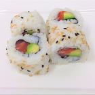 Foto Uramaki Sake Avocado