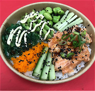 Foto Poke Bowl Spicy Sake